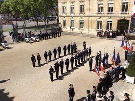 Ceremonie policiers 1